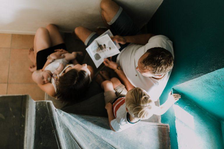 Séance famille à domicile