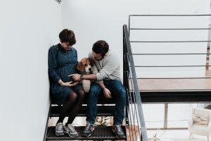 Élodie et Nicolas, une séance grossesse…