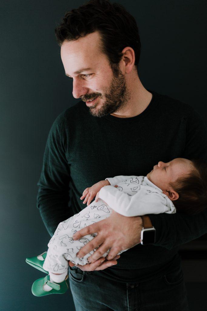 Une jolie séance nouveau-né
